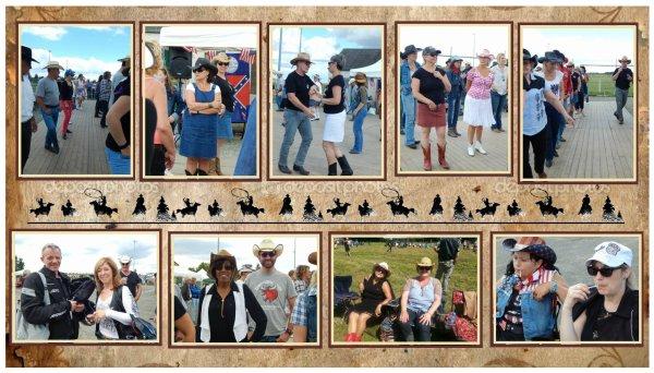 """Un 14 juillet universel !! Avec des danses country et des danses hindoues .Un bel après midi en compagnie des Cherokees Dancers ou la diversité musicale fut partagée sur la piste . Un bon moment de rigolade pour les cowgirls et les cowboys qui se sont initiés à cette danse  """" la Bollywood  """"  . Nous avons eu le soleil avec nous , même si parfois il ne faisait pas très chaud , mais une bonne chaleur régnait sur le plancher de ce 14 juillet  organisé par la mairie d'Abondant 28."""