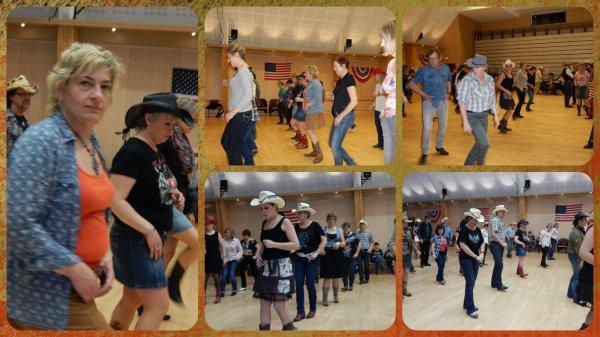 Suite des photos du bal d'Anet avec les Cherokee's Dancers ....Beaucoup de monde sur la piste avec des petits moments de delires entres copines . Après midi très sympathique ......
