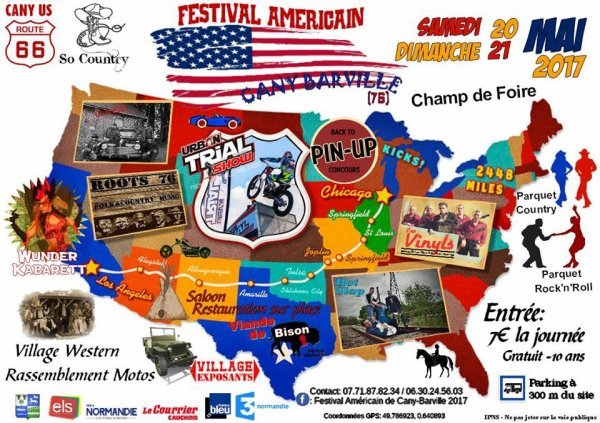 Le 20 MAI à Cany Barville 76 : Festival