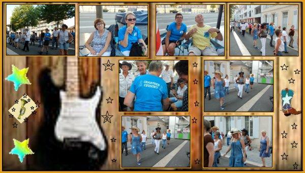 Fête de la musique à Chartres 28. Beaucoup de monde sous une chaleur étouffante, la soirée fut une réussite .