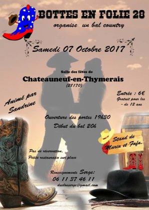 Ça approche , dans une semaine au plus ..... Bal des bottes en folies à Chateaunef -en Thymerais