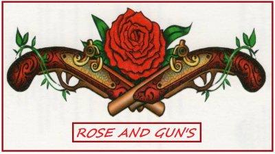 Les Rois débarquent chez les Rose And Gun's  !!