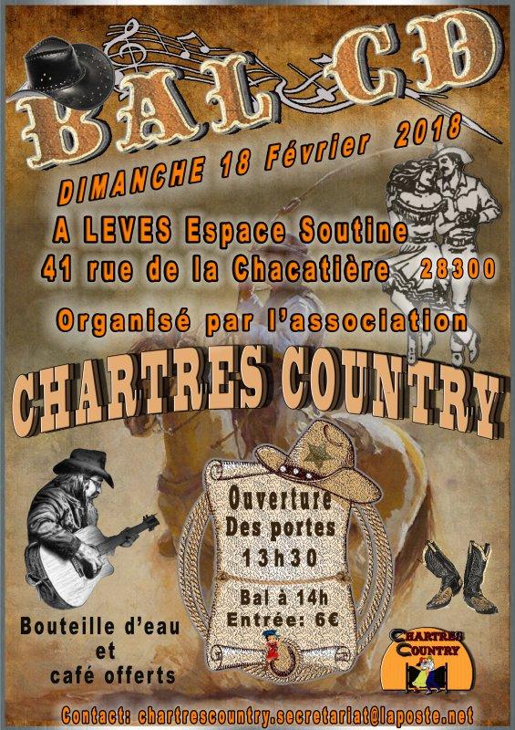 Chez nos amis de Chartres Country : A noter dans vos agenda .........             C'est dans 3 jours  !!!