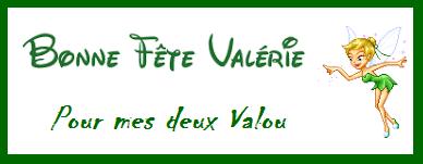 Val Lou ma s½ur & Valou mon amie , cette journée est la vôtre , bisous à vous deux .