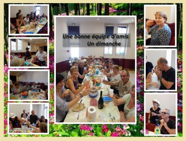 Workshop Catalan avec Valou à Nogent le Roi 28 .Une journée chaude  mais bien sympathique !!
