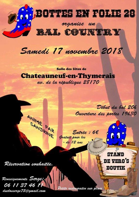 """La voici la playlist du bal des """""""" Bottes en Folie """""""" le 17 Novembre prochain  .....animé par Sandrine"""