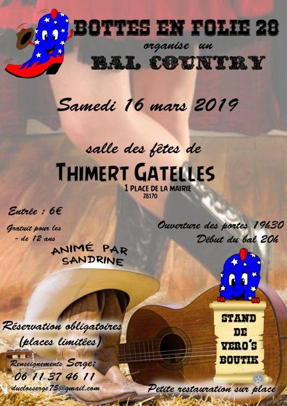 16 Mars 2019: Bal Bottes en Folie à Thymers Gatelles 28170. Et voici aussi la Playlist !!!