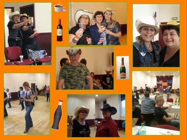 Les photos du repas partage chez les Country Passion 28 - Quels bons moments encore  !!