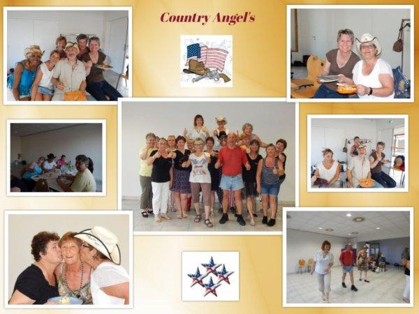 Assemblée Générale et repas partage chez les Country' Angel's à Brezolles