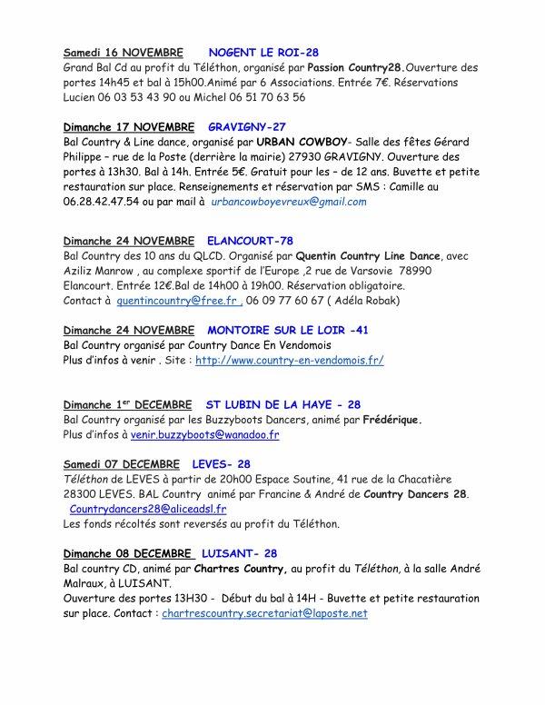 A vos agendas : Dates des bals des départements : 27-28-41-61-72-78 ... 2019/2020 commence bien - De sept a déc 2019-