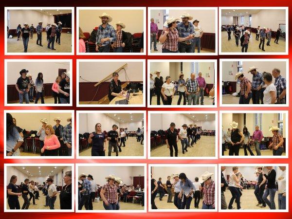 Les Friends partagent  une raclette et dansent tout l'après-midi  !!