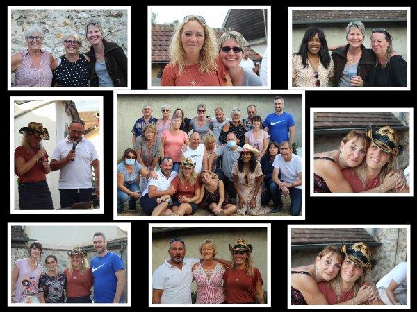 Journée entre amis .........Friends et les Bottes en folies qui nous quittent !!