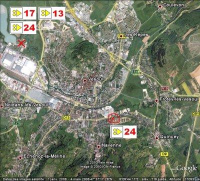 circuit VTT n° 13  La Motte Vesoul et Vaivre