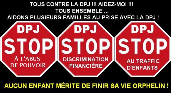 Tous ensemble avec mon Amie Mélanie contre la DPJ