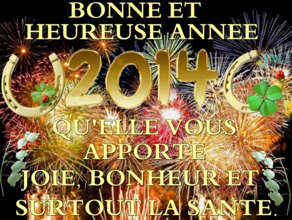 Bonne année :