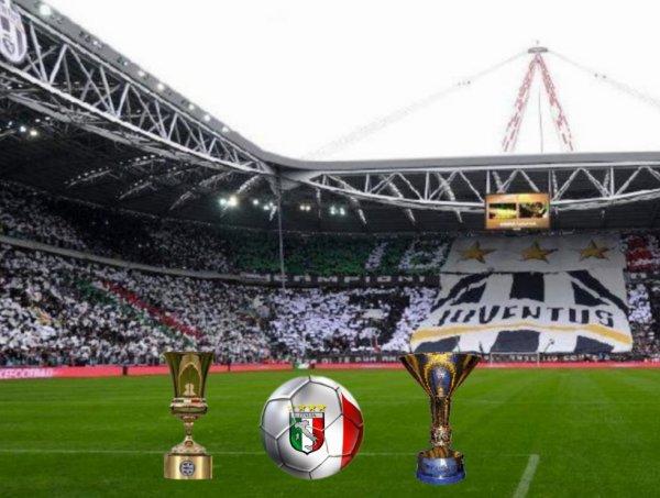 Le stade de foot de la Juventus :
