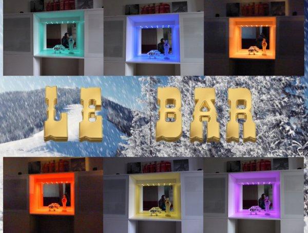 Mon nouveau bar :