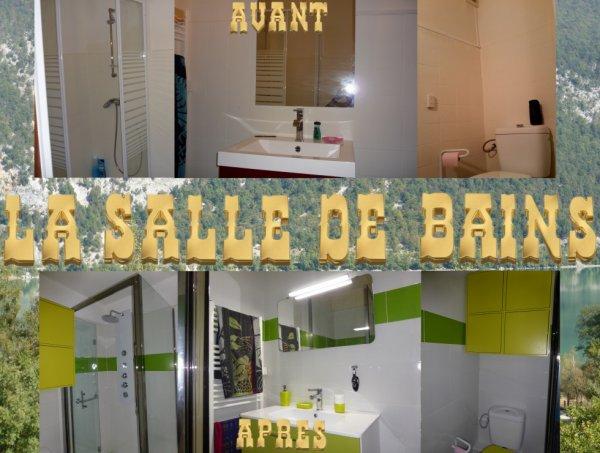 Photos de ma salle de bains :