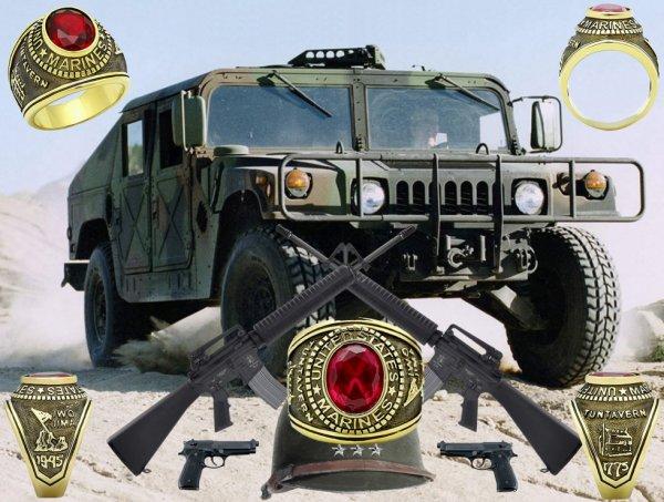 Hummer H1 '' Avec chevalière '' :