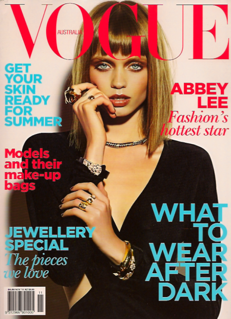 Vogue australie abbey