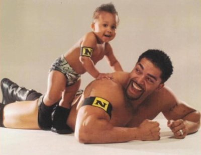 La femme de David otunga et son fils david otunga jr