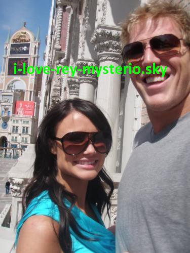 Jack SWAGGER ET SA FEMME CATALINA