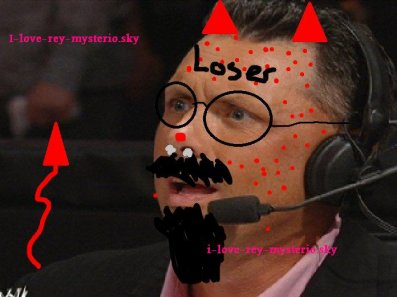 voici le dessin d michael cole que the rock avai promit sur son facebook