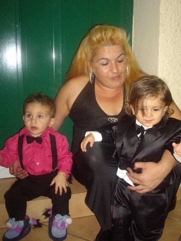 mon cousin kelian ma tante myriam y mon frere bisente