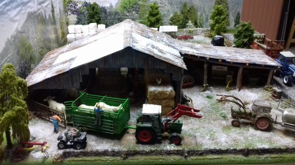 Les premières neiges sont tombées 😀