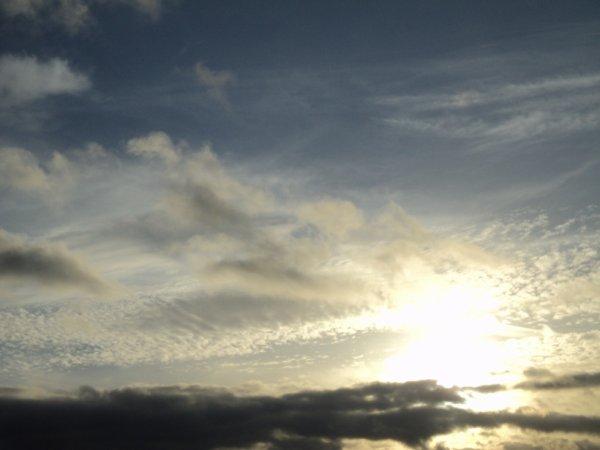Le ciel, même en hiver, sera toujour beau  :)