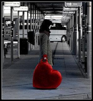 J'ai le coeur lourd .... @ Popiline @