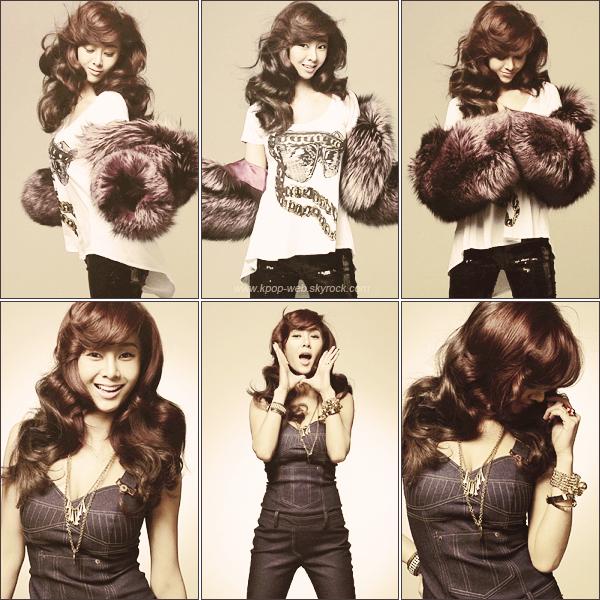 G.NA (최지나) - 23 Mai 2011 Mise à jours sur le site officiel de CUBE. Nouvelles photos promotionnelles de l'album Black and White, sorti en Janvier dernier.