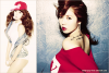 4MINUTE HYUNA . JACKET PHOTOS . MINI ALBUM SOLO . 5 JUILLET 2011