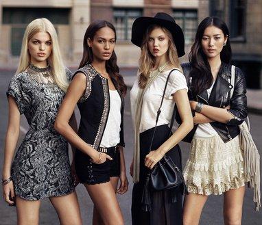 H&M s' inspire du style des mannequins