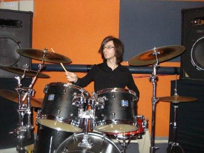 Drummer always drums.