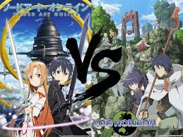 sao et log horizon