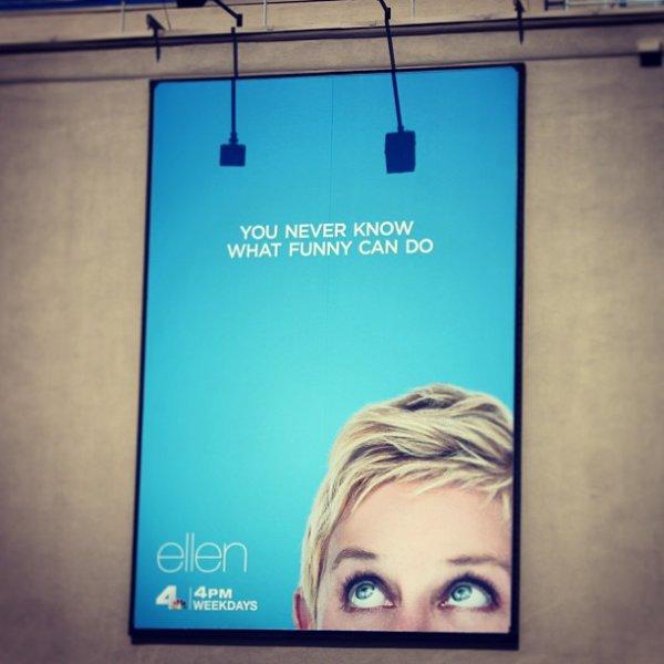 """...LA SAISON 11 DU """"ELLEN SHOW"""" ARRIVE LE 9 SEPTMBRE 2013 ET VOICI DEJA L'AFFICHE !!!!!!!"""