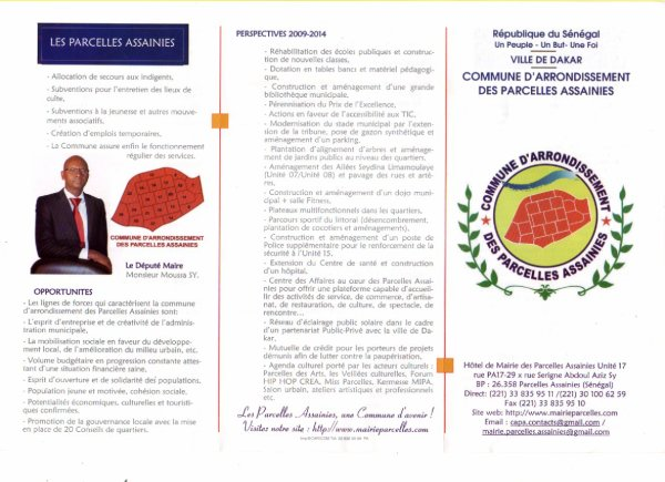 PARCELLES ASSAINIES SENEGAL