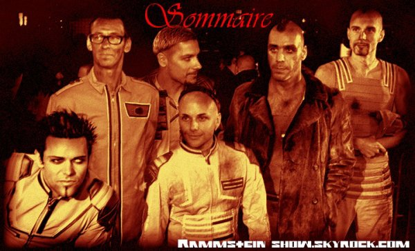 Sommaire de Rammstein-Show