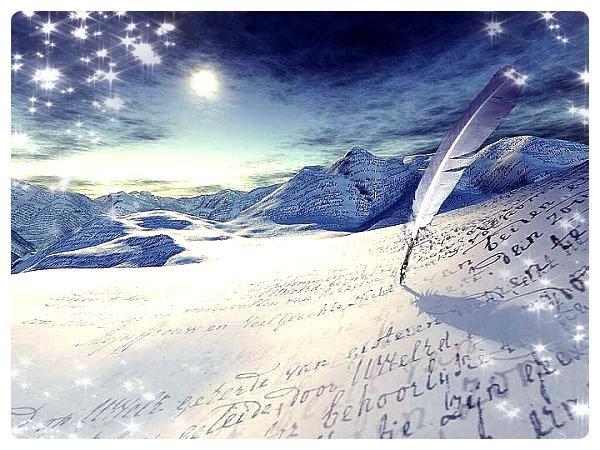 L'écriture est le seul espace de liberté absolue....