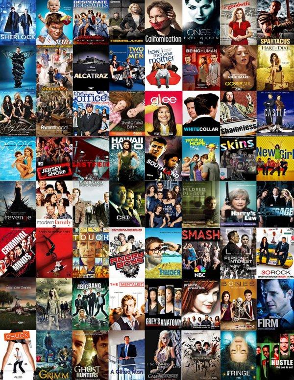 quelles sont vos séries préférées ?