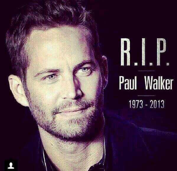 Tu va beaucoup me manquer Repose en paix Paul Walker <3 c'était une personne simple et généreuse avec une personnalité super c'est dur a accepter que tu ne soit plus la :(