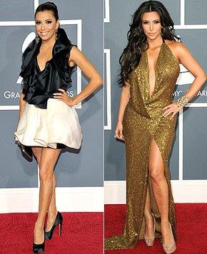 Eva Longoria vs Kim Kardashian
