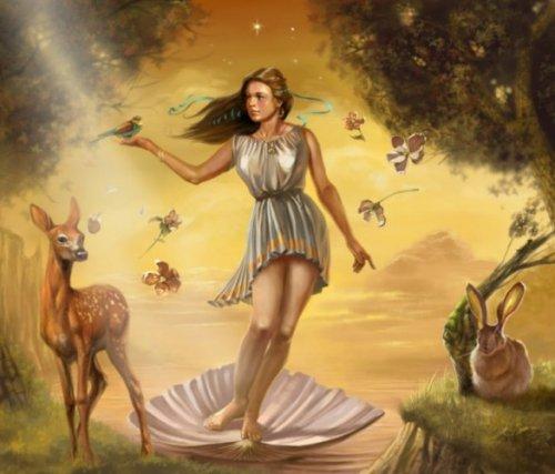 Deesse Du Sexe aphrodite : déesse de l'amour , du sexe , du plaisirs et de la