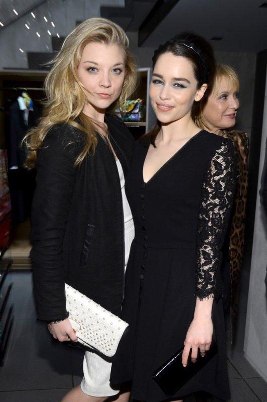 3/05/13: Emilia était à l'ouverte de la boutique Dolce&Gabbana sur la 5ème avenue à NY.