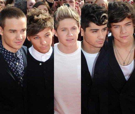 VS de stars 8 : VS membres du groupe : One Direction !