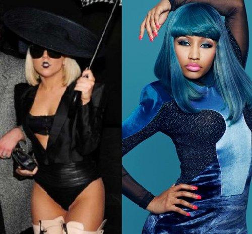 VS de stars 4 : Lady Gaga VS Nicki Minaj !