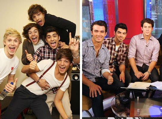 VS de stars 5 : One Direction VS Jonas Brothers !