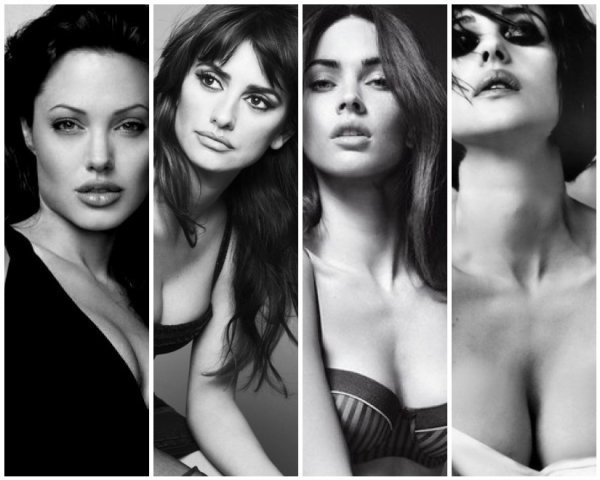 VS de stars 16 : Angelina Jolie VS Penelope Cruz VS Megan Fox VS Monica Belucci !