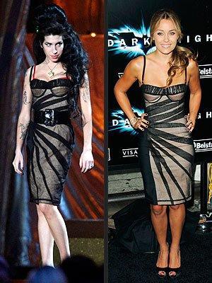 Les stars portent les mêmes tenues 12 : Amy Winehouse et Lauren Conrad !